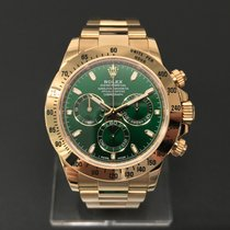 Rolex Cosmograph Daytona Yellow Gold Green Dial