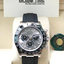 Rolex 116519LN 18K White Gold Daytona Oysterflex  [NEW]