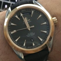 Omega Seamaster Aqua Terra 150M Day-Date 41,5mm Gold Steel