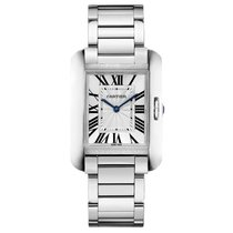 Cartier Tank Anglaise Quartz Ladies Watch Ref W5310044