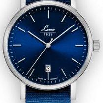 Laco Classic Azur 40 Automatik Blaues Zifferblatt