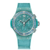 Hublot Big Bang Automatic Stainless Steel Turquoise Dial...