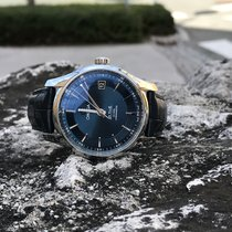 Omega De Ville Co Axial Hour Vision Blue Dial Full Set 2Y...