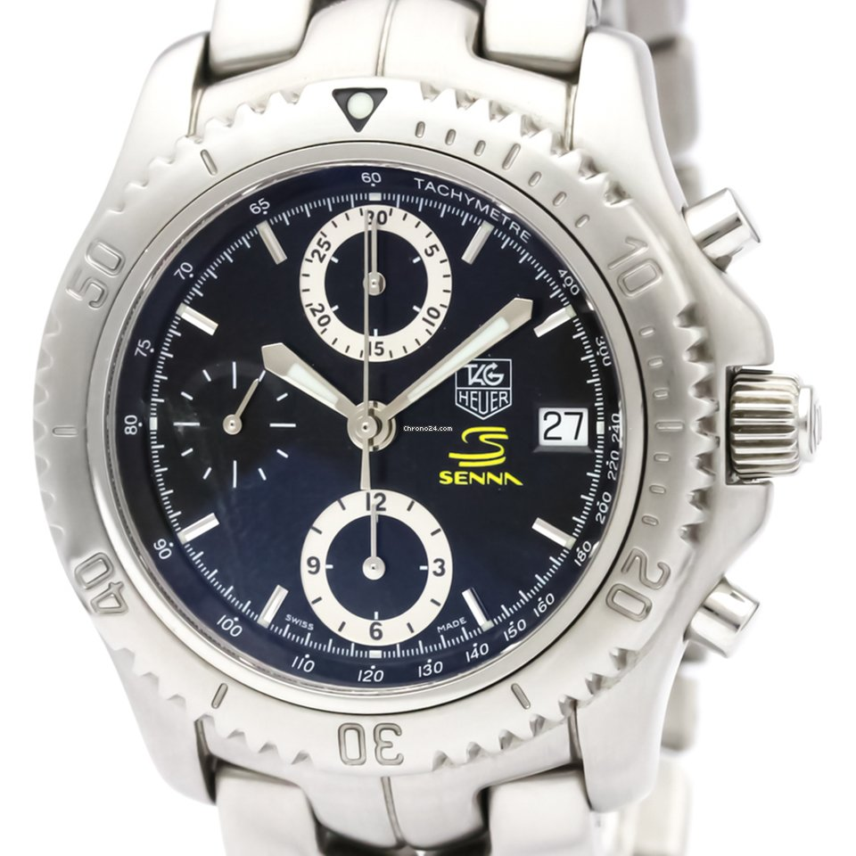 4d8ac65e071 Tag heuer link chronograph ayrton senna limited watch for sale from a  trusted seller on chrono