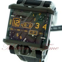 Devon Tread 1 F, Back Skeleton Dial with Rotating Belt Time...