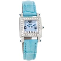 Chopard Happy Sport Blue Mother Of Pearl Diamond Watch...