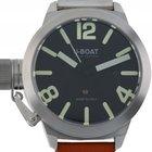 U-Boat Italo Fontana Classico Stahl Automatik Lederband...