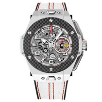 Hublot Ferrari White Ceramic Carbon Limited Edition