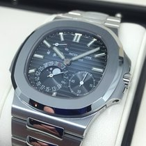 Patek Philippe Nautilus Automatic Moonphase Stainless Steel...