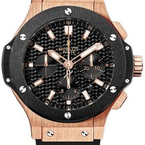 Hublot Big Bang Evolution 18 kt Rotgold Keramik