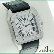 Cartier Santos 100 XL Steel 39 x 51 mm