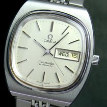 Omega Seamaster Automatic Quick Day Date Steel Mens Watch...