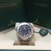 Rolex New Yachtmaster Steel/Everosegold , Black dial