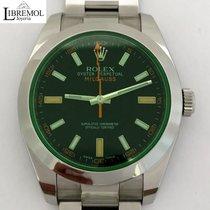 Rolex Milgauss Green Glass