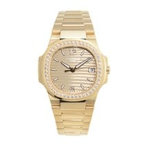 Patek Philippe Nautilus 18 K Rose Gold With Diamonds Gold...
