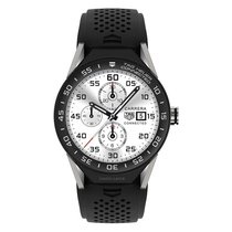 TAG Heuer Connected Modular 45mm Titanium Smartwatch SBF8A8001...