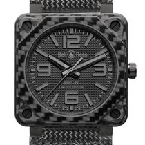 Bell & Ross BR01-92 Automatic 46mm BR01-92 Carbon Fiber...