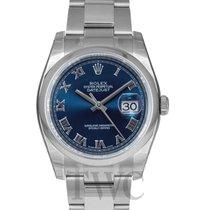 ロレックス (Rolex) Datejust Blue Dial Oyster Lock Bracelet - 116200