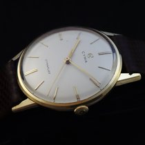 Cyma Vintage Cymaflex Solid Gold 18k  Watch 60's