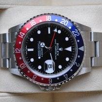 Rolex [NEAR NOS+SERVICE+24 Mon] GMT Master II, PEPSI - F - 2005