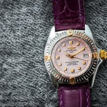 Breitling Ladies' Callistino Steel/Gold/Mother of Pearl