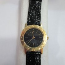 Bulgari – gold watch with crocodile strap