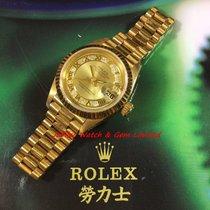 롤렉스 (Rolex) 69178 Datejust President  Myriad Raised Gold Dial...