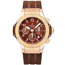 Hublot 341.PC.1007.RX 41mm Big Bang Cappuccino Gold - Rose...