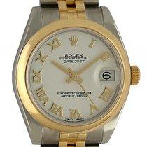 Rolex Datejust Medium Stahl Gelbgold Automatik Jubilé Armband...