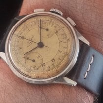 Tavannes VINTAGE STEEL CHRONOGRAPH WATCH VENUS 175