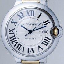 Cartier Ballon Bleu 42mm AUTOMATIC Stainless Steel &...