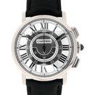 Cartier Rotonde W1556051 In Oro Bianco E Pelle