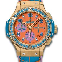 Hublot Big Bang Pop Art Yellow Gold Blue (Limited Edition)