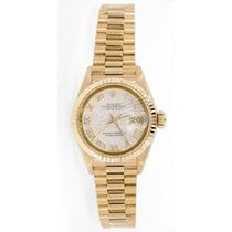 Rolex President Lady's Model 6917 Yellow Gold with White...