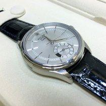 Rolex Cally - 50529 CELLINI DUAL TIME 18ct White Gold Silver