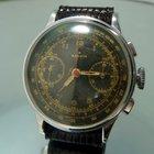 Marvin Chronograph black dial Landeron 47
