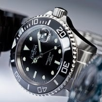 Davosa Ternos Ceramic Black (Rolex Design)