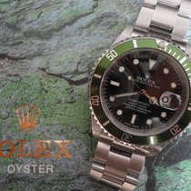 Rolex Submariner Rehaut green LC100 Full Set 2008 LV Bezel