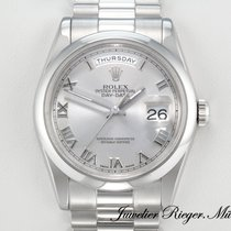 Rolex DAY DATE 118206 PLATIN 950 AUTOMATIK 36 mm DayDate Platinum