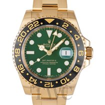 롤렉스 (Rolex) GMT-Master II Green/18k gold Ø40mm - 116718LN
