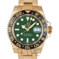 ロレックス (Rolex) GMT-Master II Green/18k gold Ø40mm - 116718LN