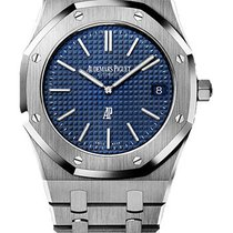 Audemars Piguet Royal Oak Ultra Thin Blue Dial 39mm 15202ST.OO...