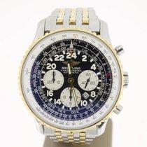 百年靈 (Breitling) Navitimer Cosmonaute Steel/Gold BlackDial...