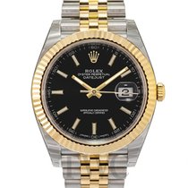 롤렉스 (Rolex) Datejust 41 Black/18k gold Jubilee 41mm - 126333