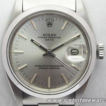Rolex Vintage Date 1500 quadrante argento full set