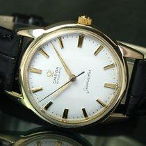 Omega Seamaster 591 Automatic Gold Cap Mens Watch RARE 14704-61