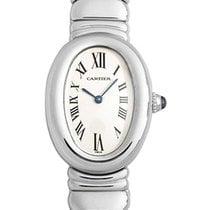 Cartier W15133L2 Baignoire in White Gold - on White Gold...