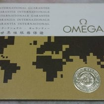 Omega Rare Guarantee Certifcate Booklet year '71 for...