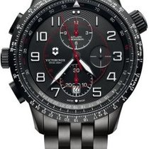 Victorinox Swiss Army AIRBOSS Mach 9 Black Edition Steel...
