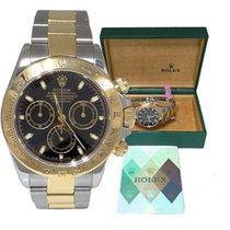 Rolex Mens Rolex Two Tone 18k Steel Oyster Perpetual Chronogra...